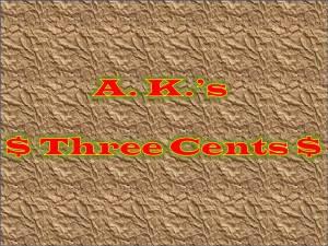 AKs 3 Cents